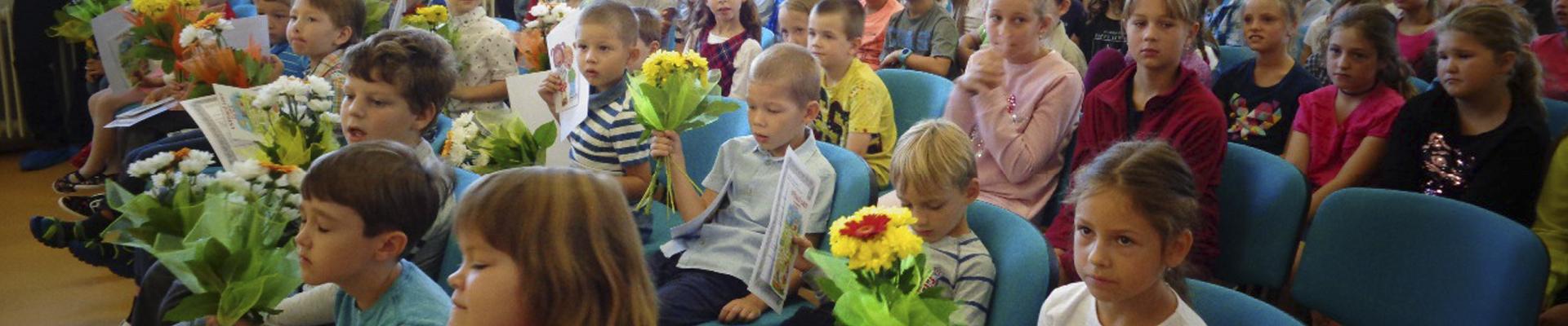 Výchova a vzdělávání probíhá </br>v bezpečném a tvořivém prostředí školy